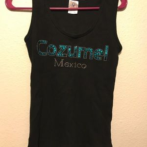 Tops - Cozumel Mexico Tank Top Women's XL